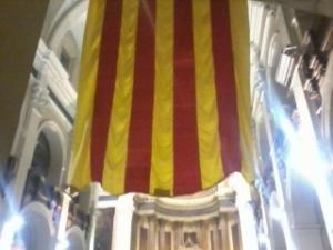 Fotografia presa a l'acte del 40 centenari de l'Assemblea de Catalunya