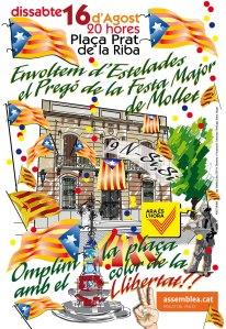 CARTELL ESTELADES FESTA MAJOR MOLLET 2014 JUNT