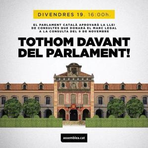 tothom al parlament