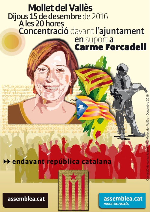 Suport Carme Forcadell