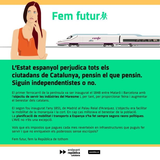 Fem Futur Postal AVE - CAT